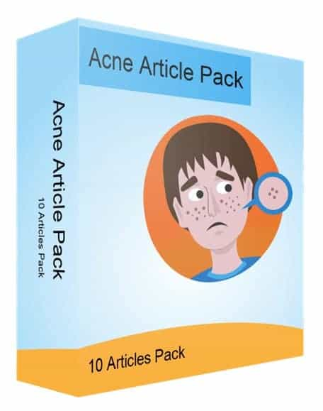 Acne Articles PLR Pack