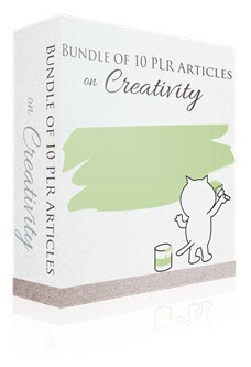 Creativity PLR Articles Pack