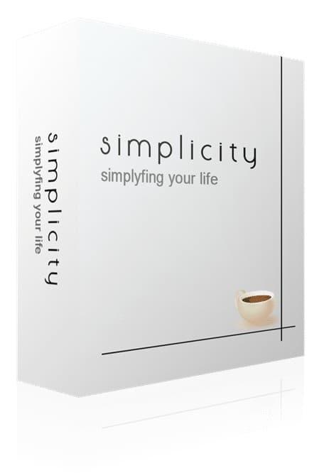 Simplicity - Simplifying life
