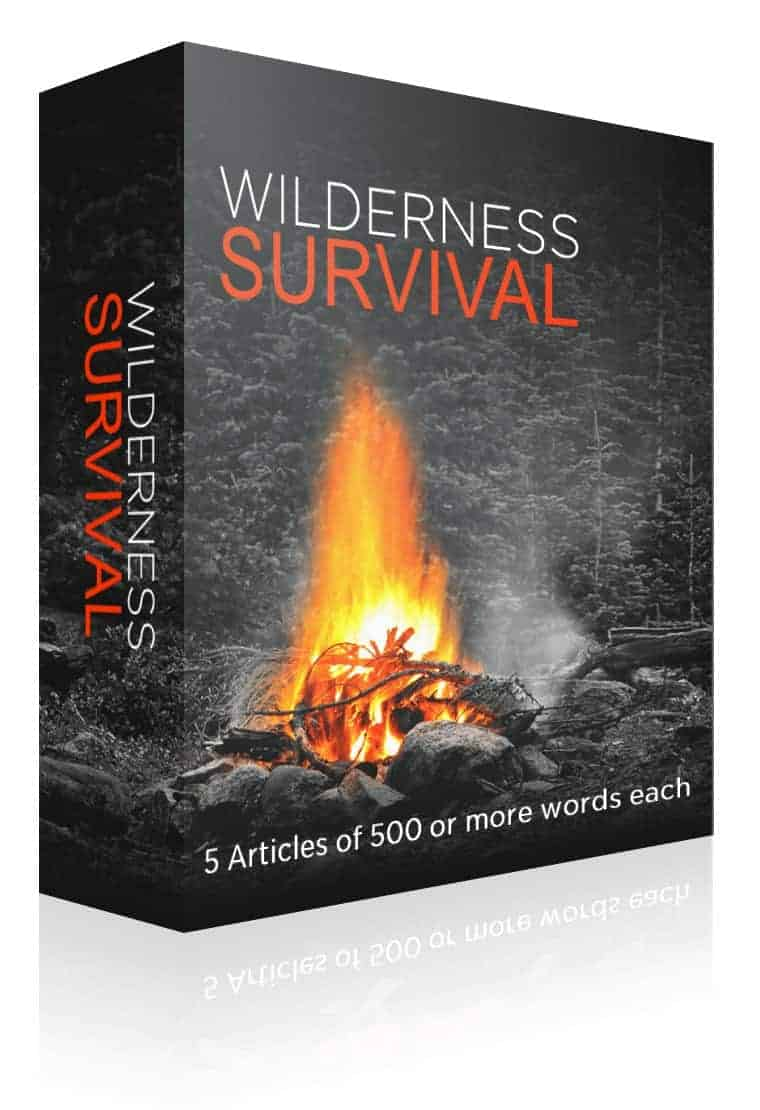 Wilderness Survival PLR Article Pack
