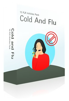 Cold And Flu Articles PLR Pack