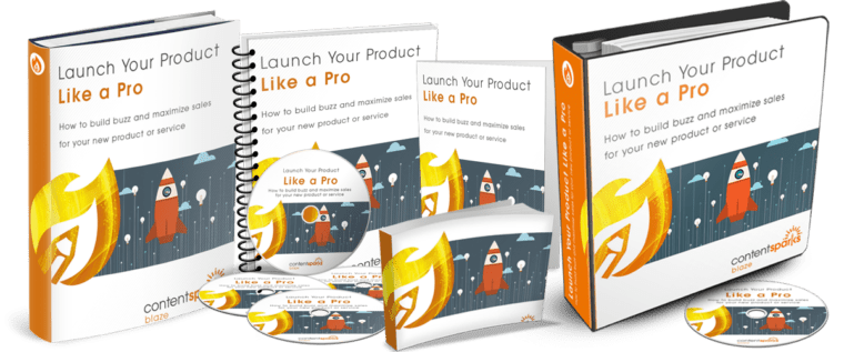 ContentSparks Launch Your Product Like A Pro